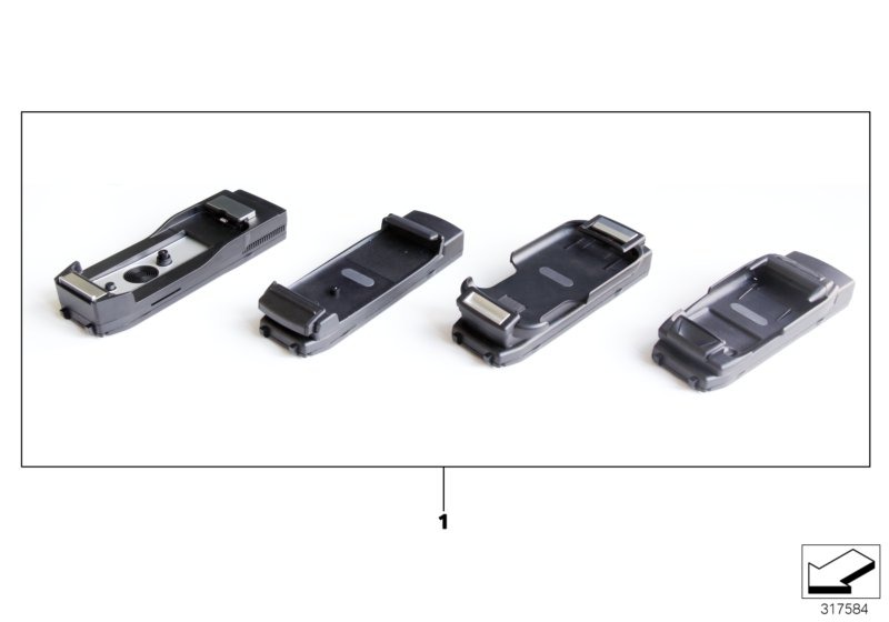 bmw genuine snap in adapter universal iphone connect. Black Bedroom Furniture Sets. Home Design Ideas