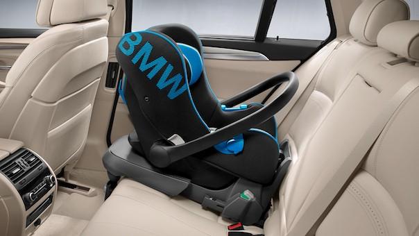 Bmw Genuine Baby Car Seat 0 Rear Facing In Black Blue 82222348231 Ebay
