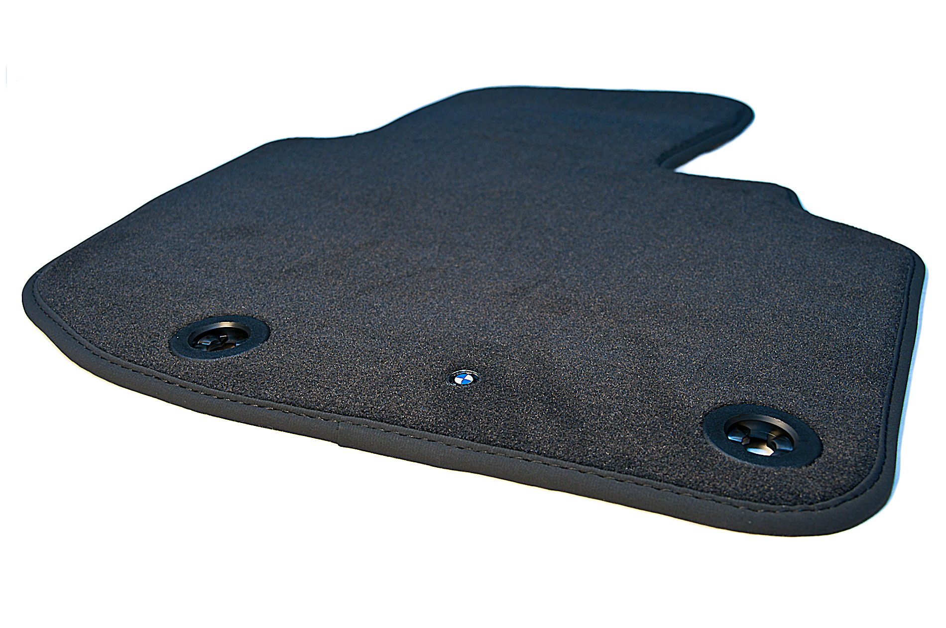 BMW Genuine Tailored Car Floor Mats Set Velours Black E36 3 Series 82549402277