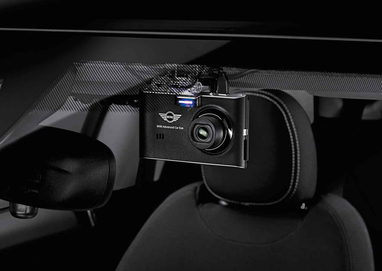 Details about MINI Genuine Advanced Car Eye Dash Cam Front And Rear