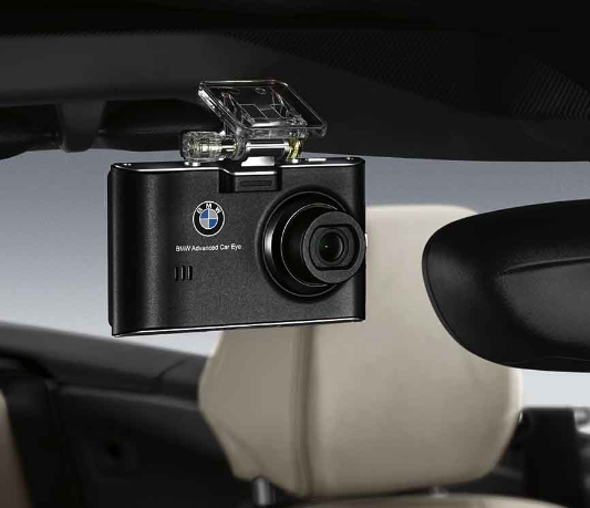 bmw genuine advanced car eye front hd dash cam road camera