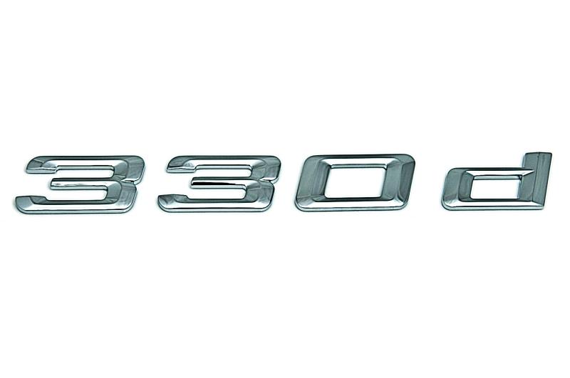 bmw genuine 330d self adhesive sticker badge emblem e90. Black Bedroom Furniture Sets. Home Design Ideas
