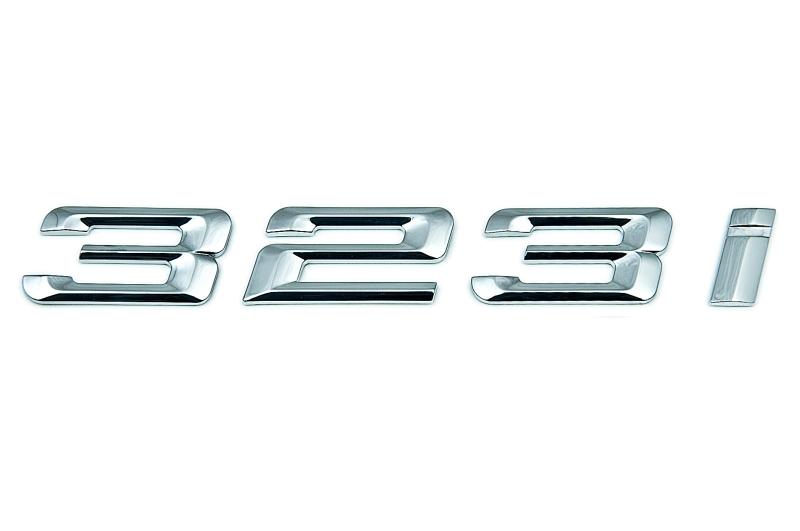 bmw genuine 323i self adhesive sticker badge emblem e46. Black Bedroom Furniture Sets. Home Design Ideas