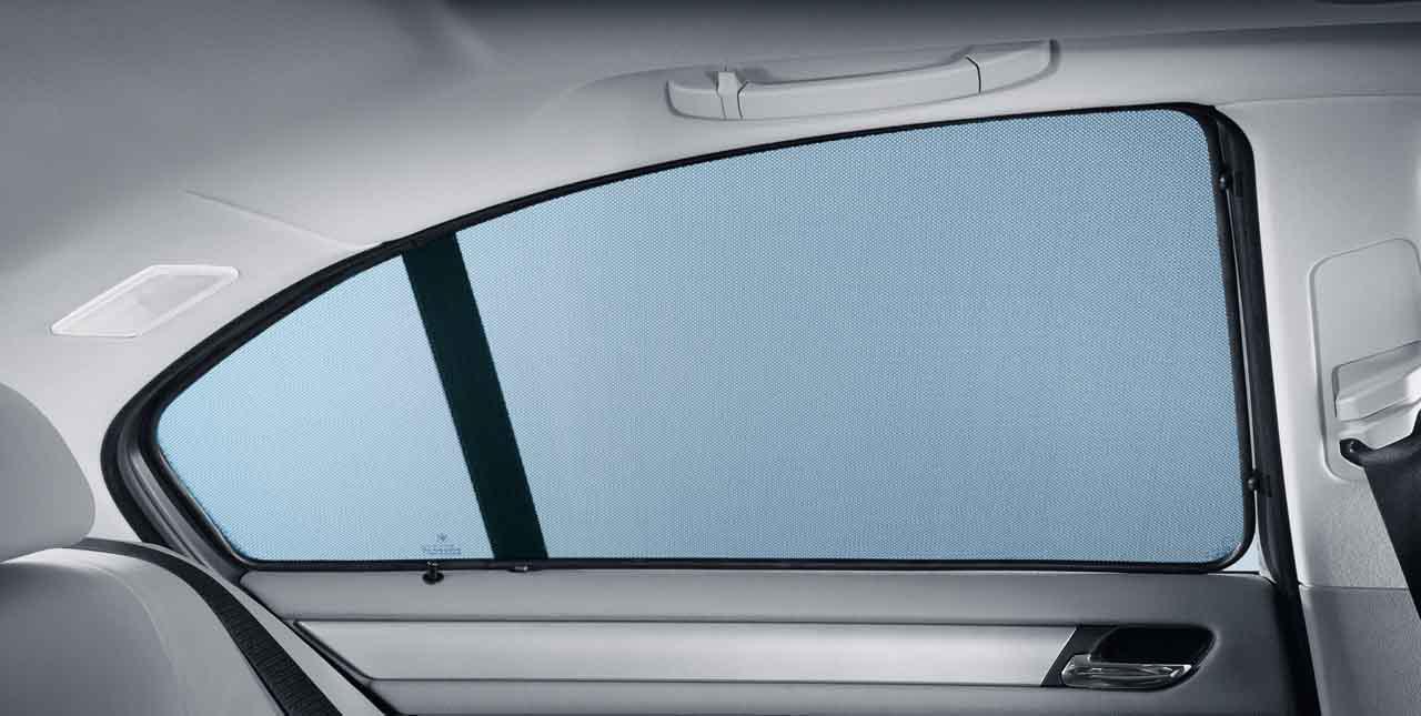 Bmw Genuine Rear Side Window Sun Screen Shade Blind Set