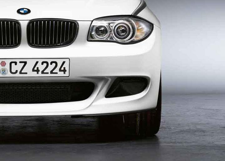 bmw performance front left bumper grille e81 e82 e87 e88 1. Black Bedroom Furniture Sets. Home Design Ideas