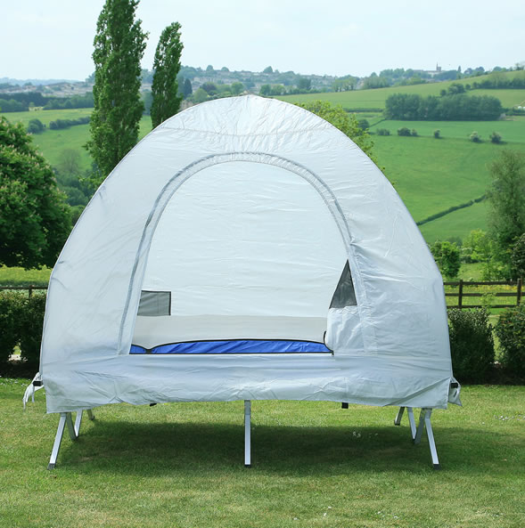 CANOPY NYLON CAMPING TENT for DOUBLE BED IN A BAG