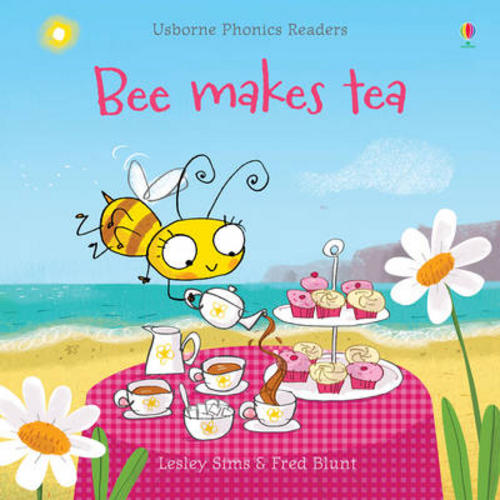 USBORNE-Phonic-Readers-Book-Bee-makes-tea