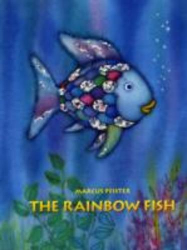 The Rainbow Fish by Marcus Pfister Book Paperback