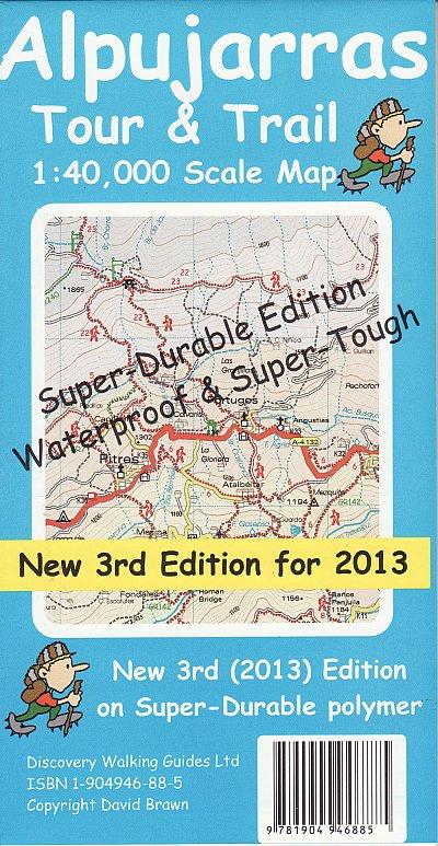 Alpujarras Tour & Trail SuperDurable Map