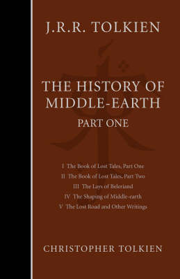 History of Middle-Earth: Pt. 1 by Christopher Tolkien Book Hardback 2003
