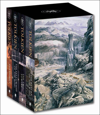 Hobbit & The Lord of the Rings: Boxed Set by J. R. R. Tolkien Book Paperback, 20