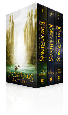 The Lord of the Rings: Boxed Set by J. R. R. Tolkien Book Paperback 2012