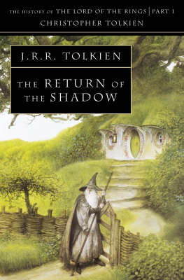The Return of the Shadow by Christopher Tolkien Book Paperback NEW  1994
