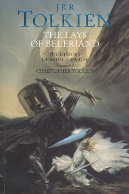 Lays of Beleriand by Christopher Tolkien Book Paperback NEW  1993