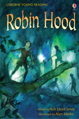 USBORNE Book Young Reading Series 2 Robin Hood Book