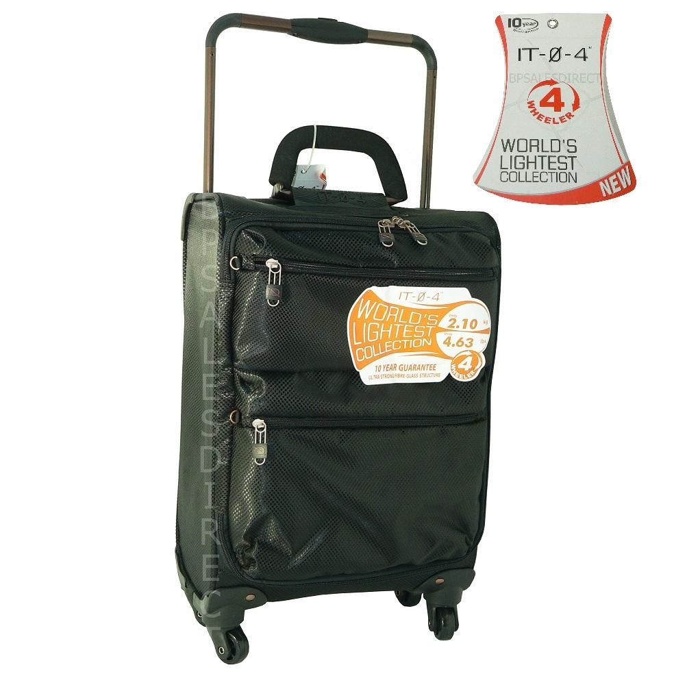 4 wheel worlds lightest luggage suitcase 4 sub zero g ebay. Black Bedroom Furniture Sets. Home Design Ideas