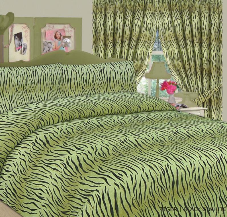 Animal Skin Print Duvet Quilt Cover Bedding Set Matching