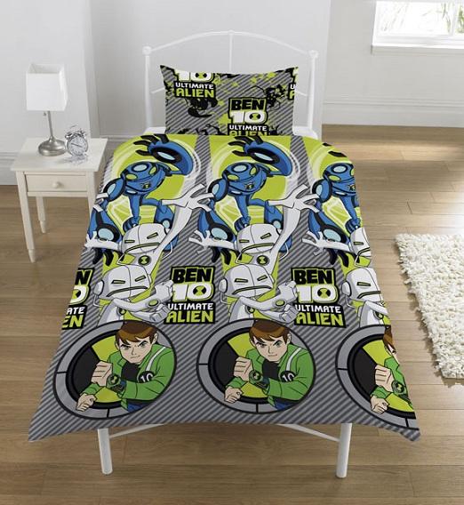 Reversible Kids Girls Boys Single Bed Duvet Quilt Cover Bedding Set Official New