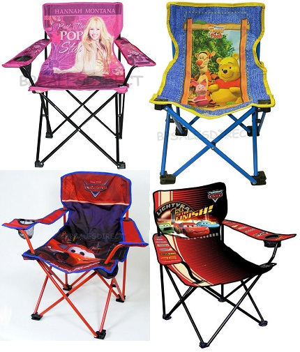 Kids boys girls childrens tv folding gardening camping for Kids tv chair