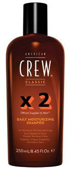 NEW American Crew Daily Moisturising Shampoo (250ml)
