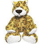 "View Item Soft Toy Lucas Leopard 11"" GUND"