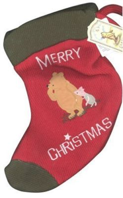 Brand New Winnie The Pooh Christmas  Stocking  12""