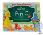 View Item Sesame Street First Day of School Photo Frame 6.5 x 7""