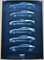 View Item ASTON MARTIN CAR POSTER-A2