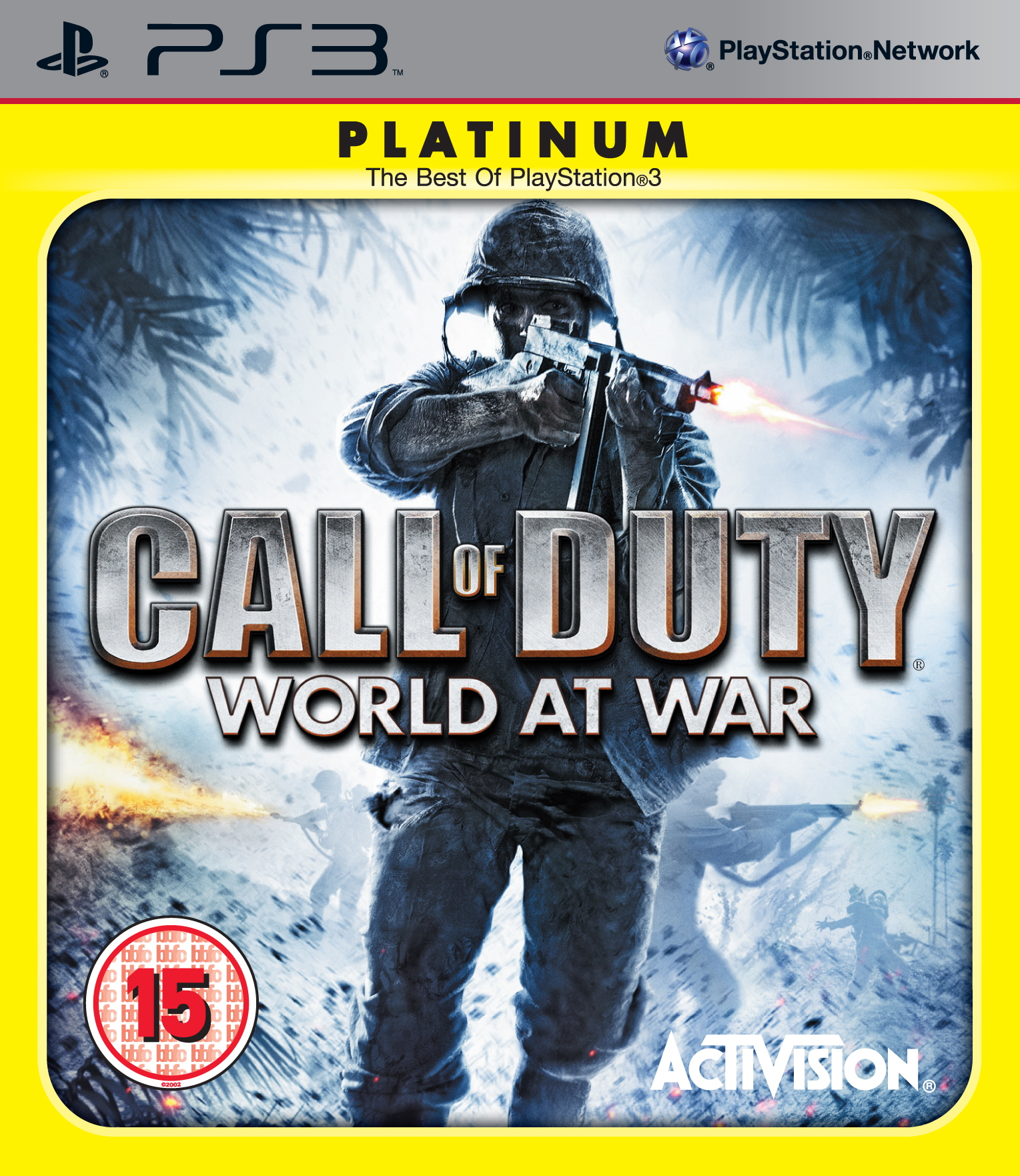 New / Sealed - CALL OF DUTY WORLD WAR PLATINU - Sony PS3 Game - Free P&P