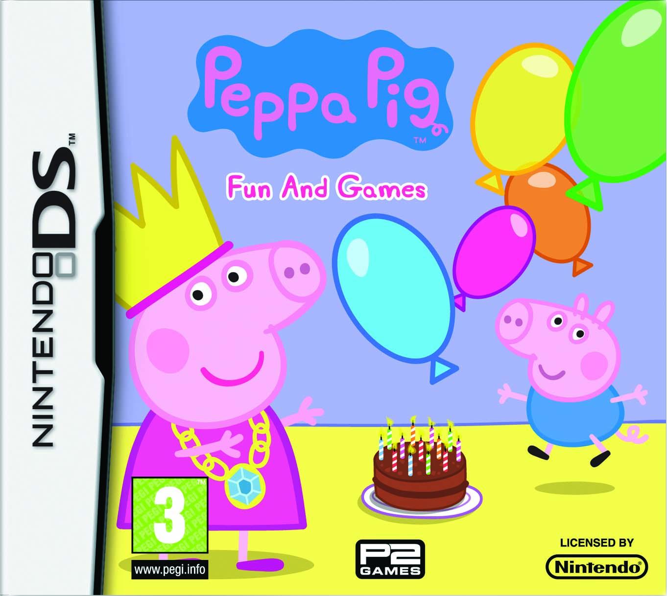 New sealed peppa pig fun amp games nintendo ds game free p amp p ebay