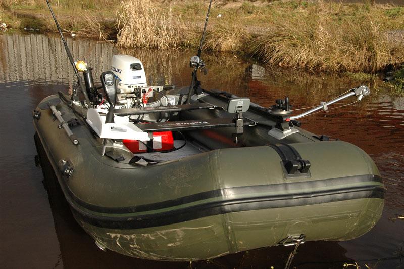 Bison Marine Olive Green Inflatable Fishing Sports Air Rib
