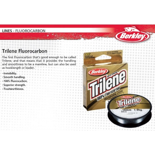 BERKLEY-TRILENE-FLUOROCARBON-CLEAR-ALL-SIZES-amp-STRAINS