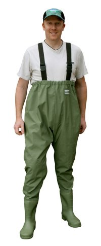 SHAKESPEARE CHEST WAIST PVC FISHING WADERS RRP £29.99 Enlarged Preview