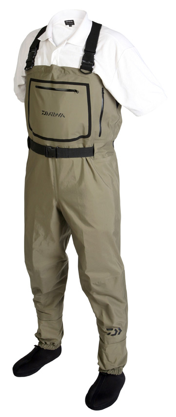 NEW DAIWA BREATHABLE CHEST WADERS ALL SIZES Enlarged Preview