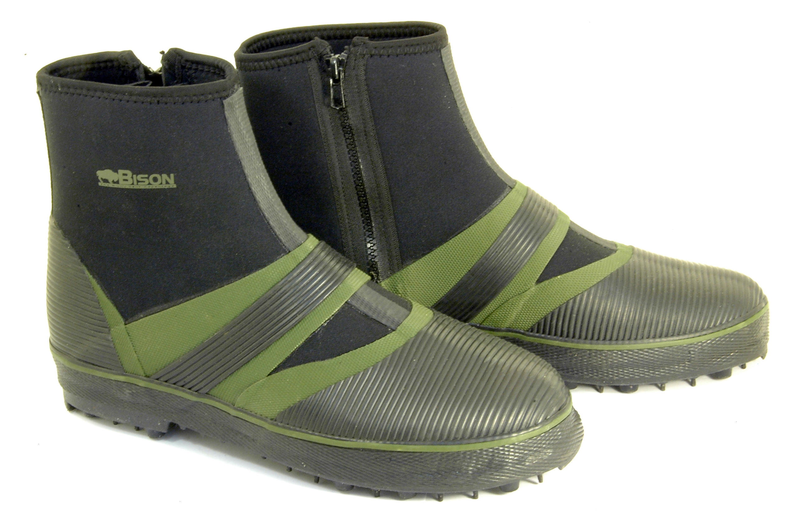 BISON-BEARCLAW-STUDDED-WADING-SHORE-FIELD-BOOTS-SZ-5-13