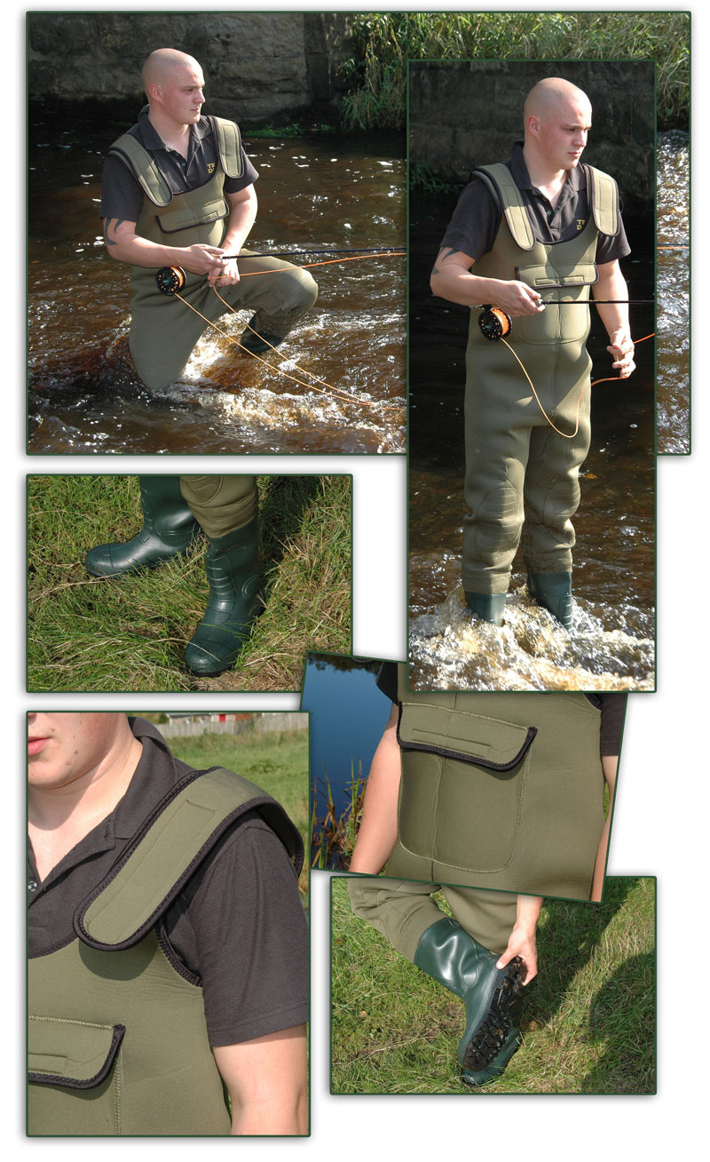 BISON-4MM-NEOPRENE-CHEST-WADERS-ALL-SIZES-WITH-FREE-MOBILE-PHONE-DRY-BAG-STUDS