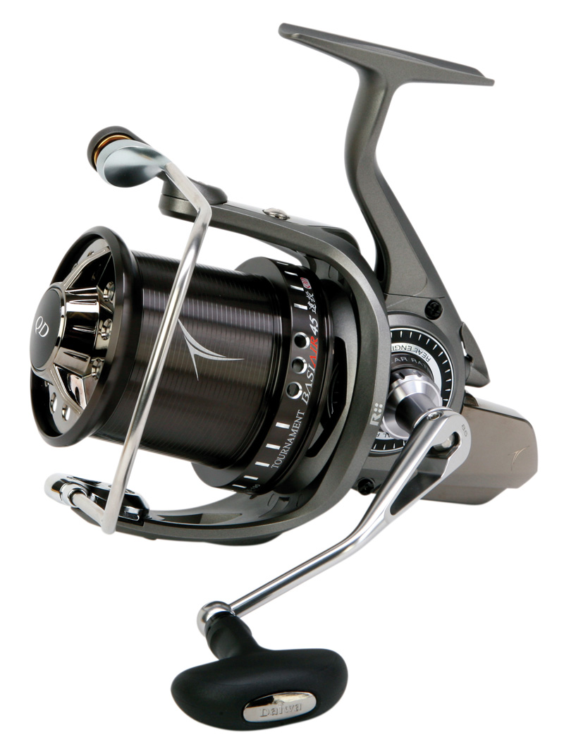 DAIWA TOURNAMENT BASIAIR 45 QD Model No BASIAIR45QD CARP FISHING REEL Enlarged Preview