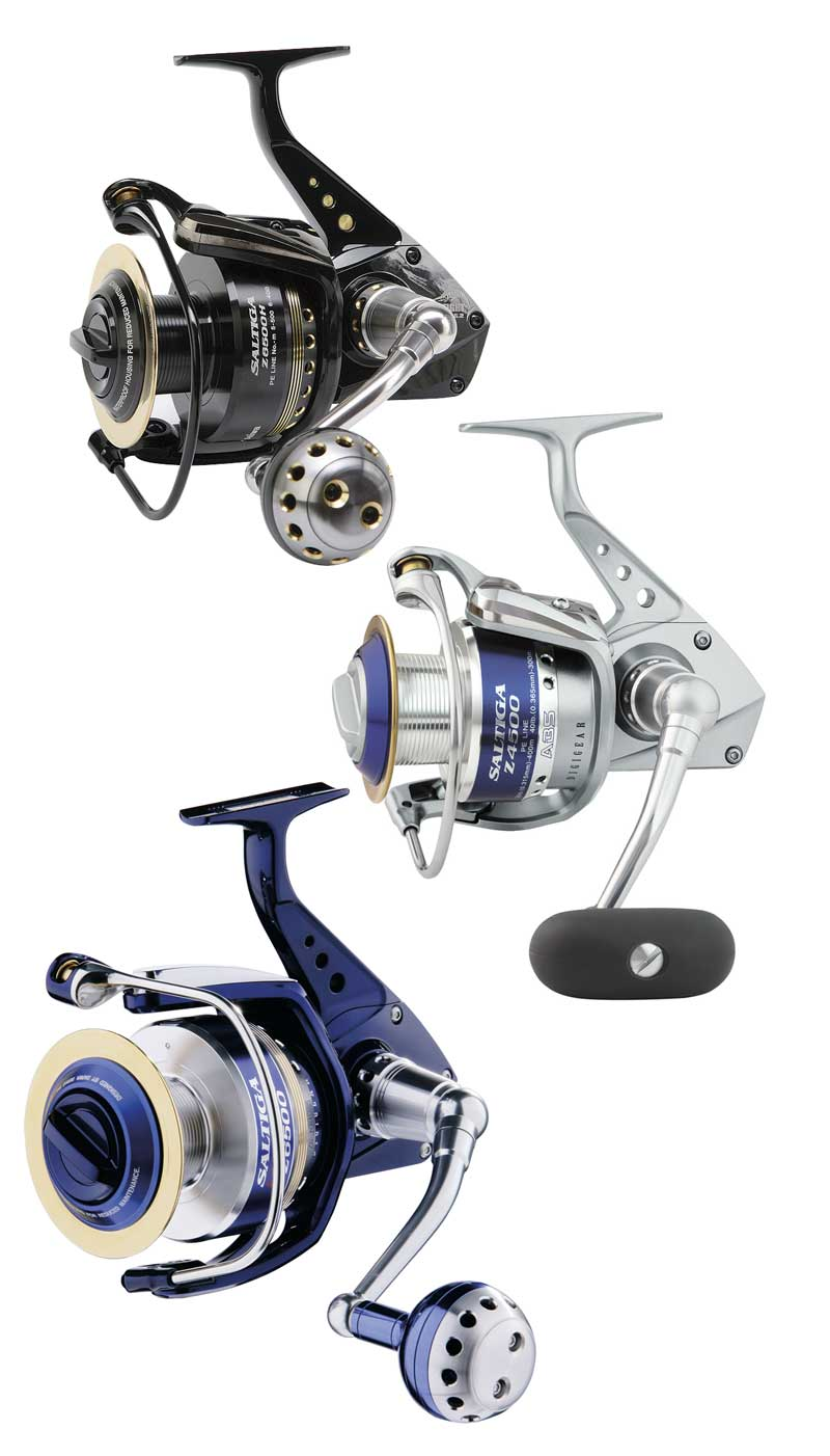 DAIWA SALTIGA Z4500H-MAG SEALED Model No SAZ4500HMS FISHING REEL Enlarged Preview