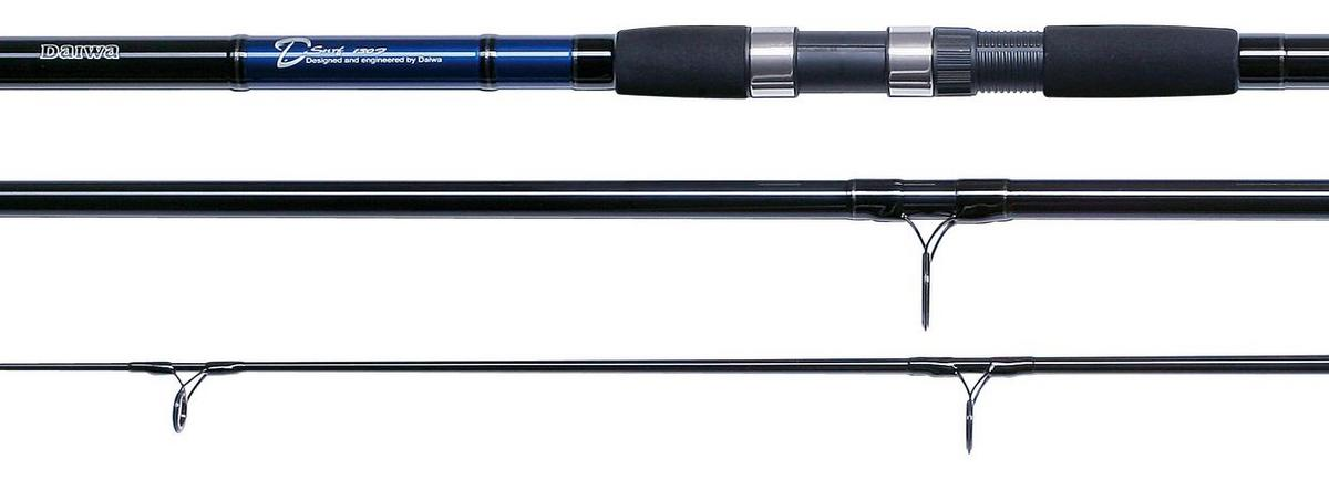 Daiwa d surf 12ft 3 piece 4 8oz beach fishing rod model no for 3 piece fishing rod