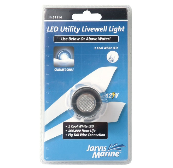 JARVIS WALKER MARINE LIVE WELL WHITE (SINGLE LED WHITE) Enlarged Preview