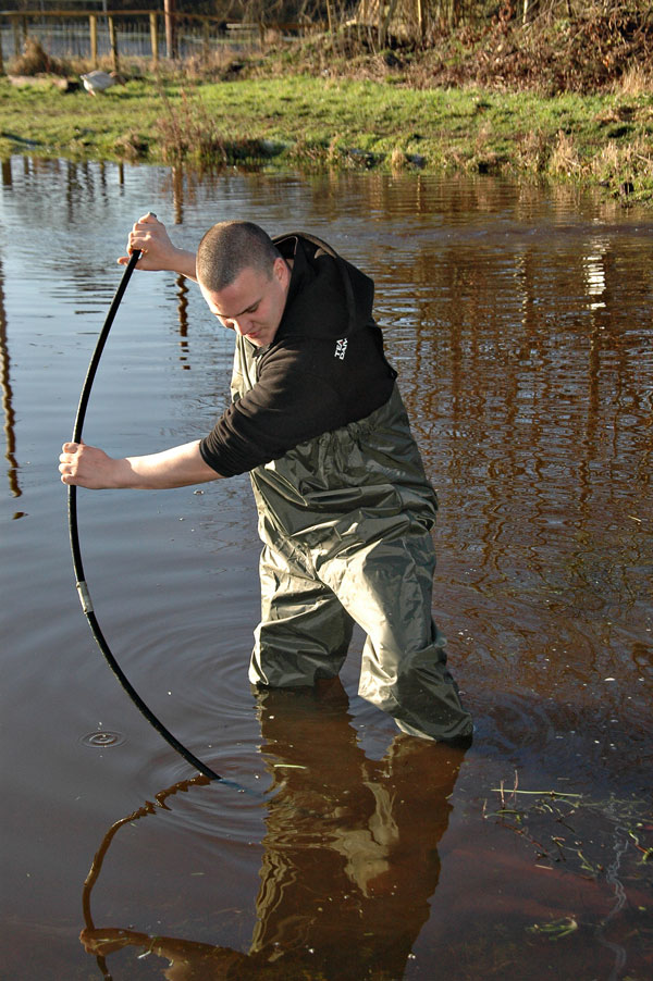BISON PVC / NYLON CHEST WADERS SIZES 7 8 9 10 11 0R 12 FREE UK NEXT DAY DELIVERY Enlarged Preview