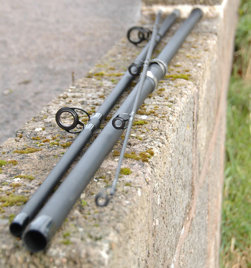 BISON BEACHCASTER 13' 3 SECTION 4/8OZ BEACH CASTING SEA FISHING ROD  Enlarged Preview