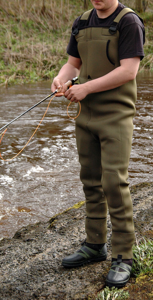 Chest waders stocking