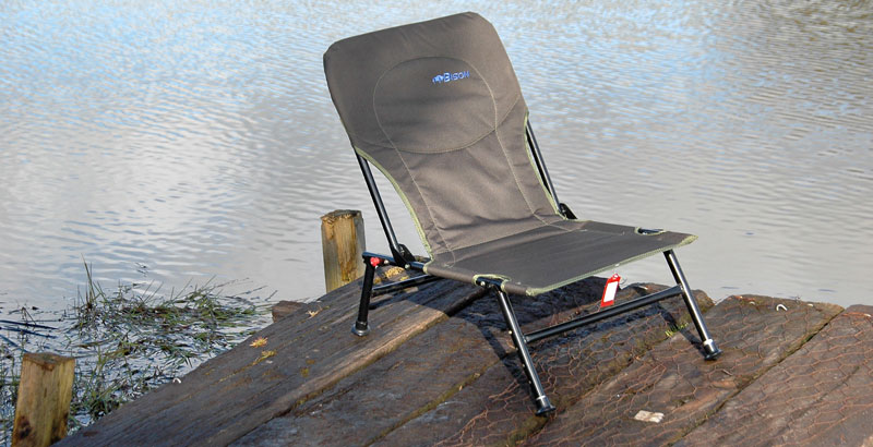BISON CARP CHAIR ADJUSTABLE FISHING CHAIR & CAMPING CARAVANING CHAIR Enlarged Preview