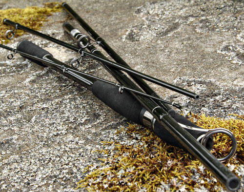 Bison 5 section travel spinning rod 10 60 gram salmon for Best fishing pole for trout