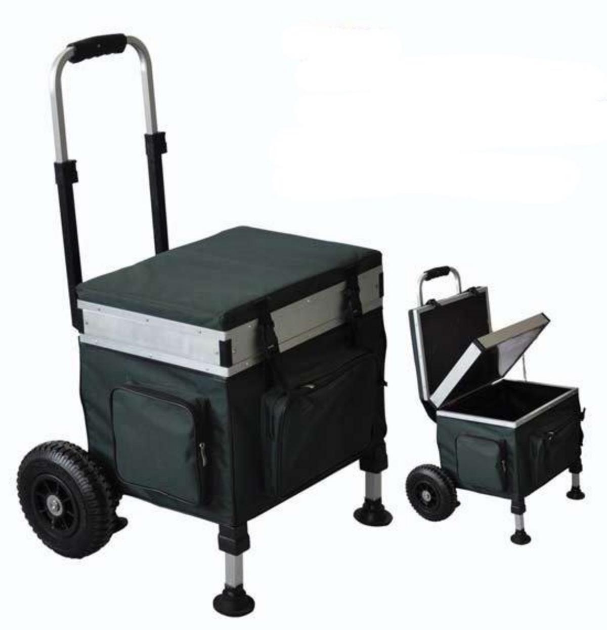 Bison Trolley Seat Box Barrows Amp Trolleys Fishing Mad