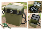 NEW FISHINGMAD SEATBOX, FISHING TACKLE ROVING SEAT BOX