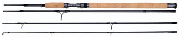 NEW SHAKESPEARE AGILITY TRAVEL SPINNING ROD 7FT-11FT 4PC ALL SIZES AVAILABLE