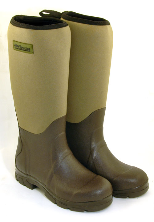 BISON NEOPRENE WELLINGTON MUCK BOOT | eBay