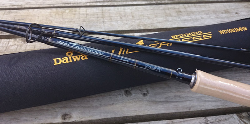 Special clearance daiwa wilderness spinning fishing rod 10 for Fishing rod clearance